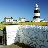 Lighthouse, Hook Head, County Wexford, Ireland — Stock Photo