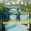 Bridges, Prague, Czech Republic — Stock Photo #10990717