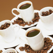 Cups of coffee — Stock Photo #10990814