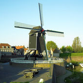 Windmill, Heusden, Netherlands — Foto Stock
