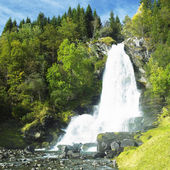 Skeie Waterfall, Norway — Stock Photo