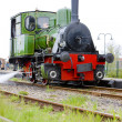 Steam locomotive, Hoorn - Medemblik, Noord Holland, Netherlands — Stock Photo