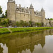 Chateau Josselin, Brittany, France — Stock Photo #11282851