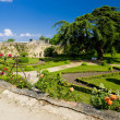 Garden of Chateau de Montreuil-Bellay, Pays-de-la-Loire, France — Stock Photo