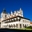 Former town hall, Square of Master Paul, Levoca, Slovakia - Stock Photo