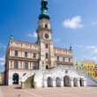 Stock Photo: Town Hall, Main Square (Rynek Wielki), Zamosc, Poland