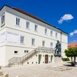 Former town hall (now museum), Nove Mesto nad Metuji, Czech Repu - Stock Photo