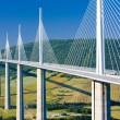 Millau Viaduct, Aveyron Département, France — Stock Photo