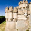 Coca Castle, Segovia Province, Castile and Leon, Spain — Stock Photo #11284546