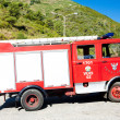 Fire engine, Folgosa, Douro Valley, Portugal — Stock Photo