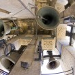 Bells of La Giralda, Cathedral of Seville, Andalusia, Spain — Stock Photo
