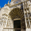Cathedral of Seville, Andalusia, Spain - Stock Photo