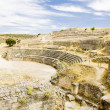 Roman Amphitheatre of Segobriga, Saelices, Castile-La Mancha, Sp — Stock Photo