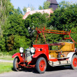 Stock Photo: Historical fire engine, Czech Republic