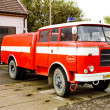Fire engine, Kuzelov, Czech Republic — Stock Photo