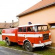 Stock Photo: Fire engine, Czech Republic