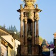 Baroque column of Saint Trinity, Saint Trinity Square, Banska St — Stock Photo