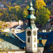 Stock Photo: Town hall, BanskStiavnica, Slovakia