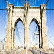 Brooklyn Bridge, Manhattan, New York City, USA — Stock Photo