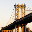 Manhattan Bridge, New York City, USA — Stock Photo