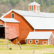 Farm near St. Johnsbury, Vermont, USA - Foto Stock