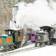 Mount Washington Cog Railway, Bretton Woods, New Hampshire, USA — Stock Photo