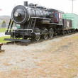 Steam locomotive in Railroad Museum, Gorham, New Hampshire, USA — Stock Photo