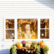 Decorated house for Halloween, Maine, USA — Stock Photo #11286176
