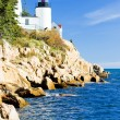Стоковое фото: Bass Harbor Lighthouse, Maine, USA