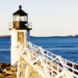 Stock Photo: Marshall Point Lighthouse, Maine, USA