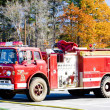 Stock Photo: Fire engine, Wiscasset, Maine, USA