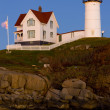 Nubble Lighthouse, Cape Neddick, Maine, USA — Stock Photo