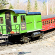 Mount Washington Cog Railway, Bretton Woods, New Hampshire, USA - Stock Photo
