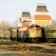 Railroad Museum, North Conway, New Hampshire, USA — Stock Photo