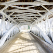 Groveton Covered Bridge (1852), New Hampshire, USA — Stockfoto