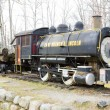Steam locomotive near Lincoln, New Hampshire, USA — Stock Photo