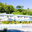 Accommodation in Maracas Bay, Trinidad — Stock Photo