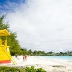 Cabin on the beach, Enterprise Beach, Barbados, Caribbean — Stock Photo #11286853