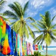 Typical fabrics, Bathsheba, East coast of Barbados, Caribbean — Stock Photo
