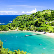 Stock Photo: Parlatuvier Bay, Tobago