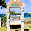 Fort Milford, Tobago - Stock Photo