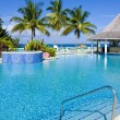 Stock Photo: Hotel's swimming pool, Tobago