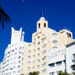 The Art Deco District, Miami Beach, Florida, USA — Stock Photo