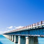 Road bridge connecting Florida Keys, Florida, USA — Stock Photo