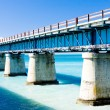 Road bridge connecting Florida Keys, Florida, USA — Stock Photo