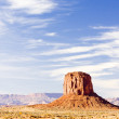 Monument Valley National Park, Utah-Arizona, USA - Stock Photo