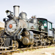 Stem locomotive in Colorado Railroad Museum, USA — Stock Photo #11288451