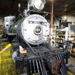 Stem locomotive depot, Colorado Railroad Museum, USA - Stock Photo