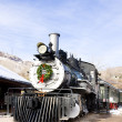 Stem locomotive in Colorado Railroad Museum, USA — Stock Photo #11288510