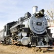 Stem locomotive in Colorado Railroad Museum, USA — Stock Photo #11288517